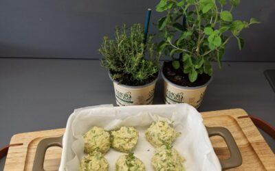 Polpette di zucchine alle erbe aromatiche